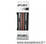 Pneu route 700x25 ts expert noir/rouge 62tpi (25-622) - Matériel pour Vélo Optimiz