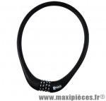 Antivol vélo Câble a code d15 x 0.75m 100 % silicone noir - Antivols Vélo Rangers
