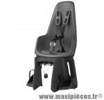 Porte bébé arrière sur cadre et porte bagage one maxi - gris urbain - Pièce de Cycle Bobike