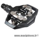 Pédale VTT auto spd m530 noir 455 gr (paire) - Matériel Vélo Shimano