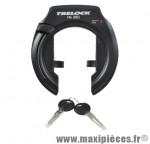 Antivol vélo fer a cheval fs350 noir avec fixation - Accessoires Vélo Trelock