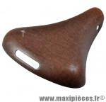 Selle loisir confort classic ondina marron avec ressorts - Pièces Vélo Selle Royal
