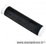 Poignée VTT 808 noir/blanc lg 125mm (paire) - Poignées Vélo Progrip