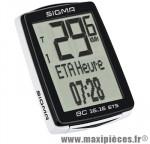 Compteur velo sans fil bc 16.16 sts 16 fcts noir - Accessoires Vélo Sigma