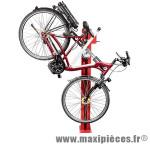 Pied d'atelier réparation velo levage pneumatique (sans plaque de base métallique) - Outillages Vélo Tip-Top