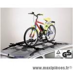 Déstockage ! Porte-vélo pour barre de toit Lucky Two Peruzzo 1 vélo entier max.15kg