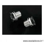 Déstockage ! Vis M15 de serrage d'axe de pédalier pour manivelles Isis/Octalink/Bosch marque Amigo