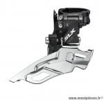 Déstockage ! Dérailleur avant VTT Shimano SLX FD-M671-A-B 3x10 vitesses collier haut