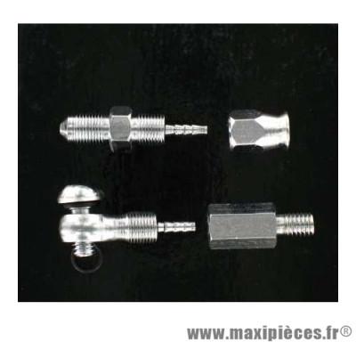 Kit raccord durite de freins hydrauliques caliper Clarks compatible Avid Elixir *Déstockage !