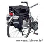 Déstockage ! Sacoche de vélo triple avec sac à dos Hapo G