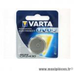 Déstockage ! Pile Varta CR2430 lithium 3V type bouton (vendue à l'unité)