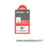 Déstockage ! Chambre à air ZK1 12 1/2 x 1,75 à 1,90 valve Presta 40mm 100g