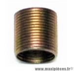 Déstockage ! Bague taraudée pour réparation manivelle de pédalier droite 9/16 Unior 1695.3A (à l'unité)