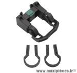 Fixation de panier avant clips 25,4/31,8 (clic securite) pour panier ref 5171 marque Newton - Pièce Vélo