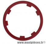 Entretoise de cassette couleur rouge pour Shimano 10 vitesses Miche *Prix spécial !