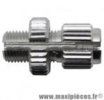 Prix spécial ! Vis tendeur de cable vélo m10x100 fendue trou 2,6/6,5mm (00451000) marque Algi - Matériel pour Vélo