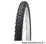 Pneu VTT Deli Tire 24x1.95 pouces (ETRTO 50-507) S-614 noir tringle rigide
