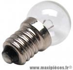 Ampoule/lampe 6 volts 2,4 watts e10 g14 (lampe vélo feu avant) marque Axa-Basta - Accessoire Vélo