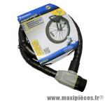 Antivol vélo articule a clé diamètre 25mm l 1,20m (livre avec 3 cles) marque Michelin - Pièce Vélo