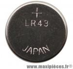 Pile bouton lr43 1.5v alcaline - Accessoire Vélo Pas Cher