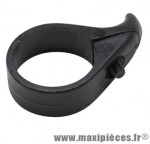 Anti-saut de chaine vélo collier diamètre 31,8mm noir - Accessoire Vélo Pas Cher