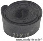 Fond de jante 26/28 pouces caoutchouc (largeur 18 mm) (vrac) - Accessoire Vélo Pas Cher