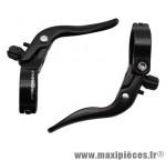 Prix spécial ! Paire de leviers de frein additionnels Promax cintre 23,8 à 31,8mm noir fixie cyclocross