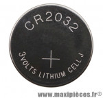 Pile bouton cr2032 3v marque Sigma - Accessoire Vélo