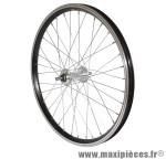 Roue remorque 20x1.75 alu mx alu axe de 9 noire marque Vélox - Pièce Vélo