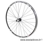 Roue route 700 omega arrière noir moy miche reflex roulement pour campa 11/10v ray inox noir 32t marque Vélox - Pièce Vélo