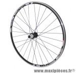 Roue route 700 omega arrière noir moy miche reflex roulement pour shimano 11/10v ray inox noir 32t marque Vélox - Pièce Vélo