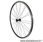 Roue route 700 omega avant noir moy reflex roulement noir ray inox noir 32t. marque Vélox - Pièce Vélo