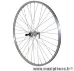 Roue VTC 700x35 arrière alu moy alu blocage rl 7/6v. marque Vélox - Pièce Vélo