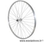Roue VTC/city 700x28-35 avant alu mx alu axe plein (vendu sans ecrou 9x100) marque Vélox - Pièce Vélo