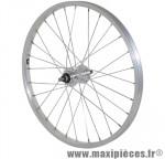 Roue VTT 20 pouces arriere alu moy alu axe plein rl 1v. (vendu sans ecrou 10x100) marque Vélox - Pièce Vélo