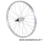 Roue VTT 20 pouces arrière alu moy alu axe plein rl 6/7v. (vendu sans écrou 10x100) marque Vélox - Pièce Vélo