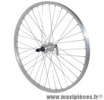 Roue VTT 24 pouces arrière alu moy alu blocage rl 7/6v. marque Vélox - Pièce Vélo