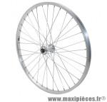 Roue VTT 24 pouces avant alu moy alu blocage marque Vélox - Pièce Vélo