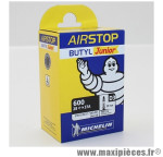 Chambre à air Michelin AirStop Junior 600 x 28 à 37A valve Presta D3 29mm 128g