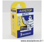 Chambre à air de vélo et de dimensions 650x35b-27.5x1.50/1.70 b3 valve presta longueur 29mm 130g marque Michelin - Pièce Vélo