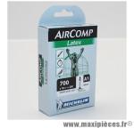 Chambre à air Michelin AirComp Latex 700x18 à 20C valve Presta A1 36mm 70g *Prix spécial !