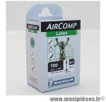 Chambre à air Michelin AirComp Latex 700x22 à 23C valve Presta A1 60mm 85g *Prix spécial !