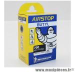 Chambre à air Michelin AirStop 700x25 à 32 B&C valve Presta A2 40mm 125g