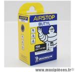 Chambre à air Michelin AirStop 700x35 à 47 B&C valve Presta A3 40mm 170g