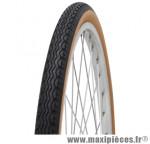 Pneu de vélo city 650 1/2 ballon 42b zz beige/noir tr (26x1 5/8x1 2/2) (44-584) marque Michelin - Pièce Vélo