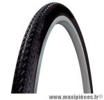 Pneu de vélo city 650x35b world tour beige/noir tr (27,5x1,40) (35-584) marque Michelin - Pièce Vélo