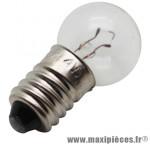 Ampoule/lampe 6 volts 2,4 watts e10 g14 (lampe vélo feu avant) (boite de 10) - Accessoire Vélo Pas Cher