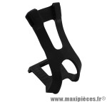 Cale pied VTT résine noir pour courroie (paire) marque Newton - Pièce Vélo