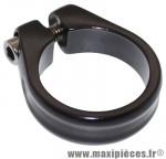 Collier serrage tige de selle chc alu noir mat diamètre 31,8mm marque Newton - Pièce Vélo * Prix spécial !