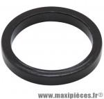 Entretoise de direction 5mm en alu noir pivot 1